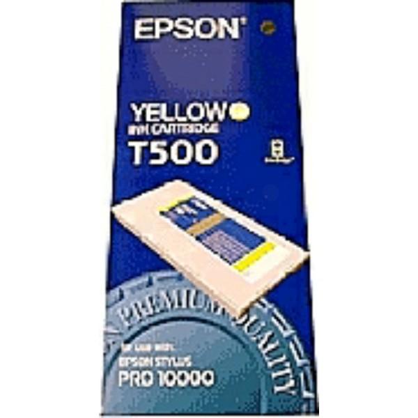 Epson Tintenpatrone T500 gelb C13T500011
