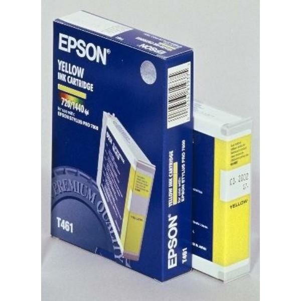 Epson Tintenpatrone T461 gelb C13T461011