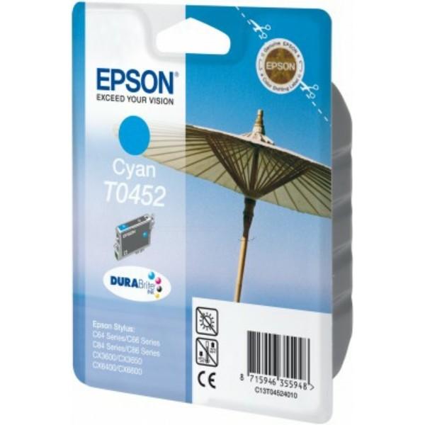 Epson Tintenpatrone T0452 cyan C13T04524010