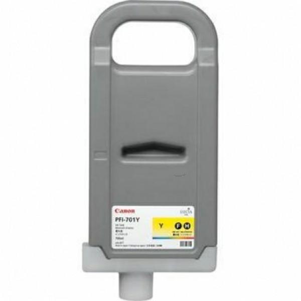 Canon Tintenpatrone PFI-701Y gelb 0903B001