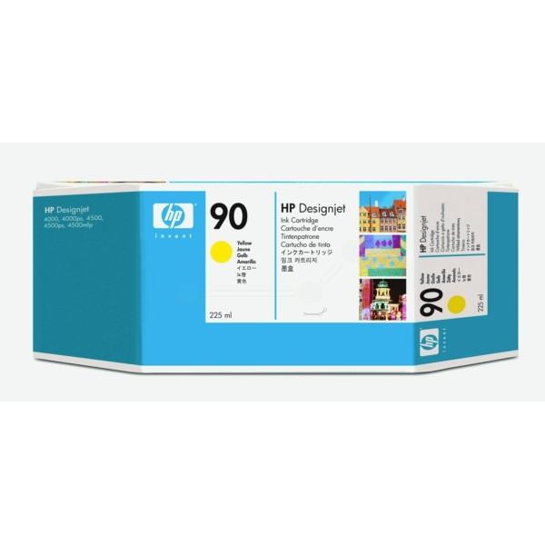 HP Tintenpatrone Nr. 90 gelb C5064A