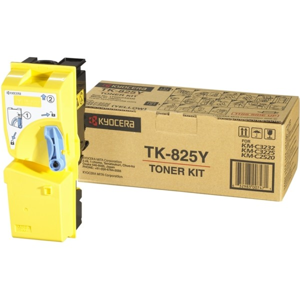 Kyocera/Mita Toner TK-825Y gelb