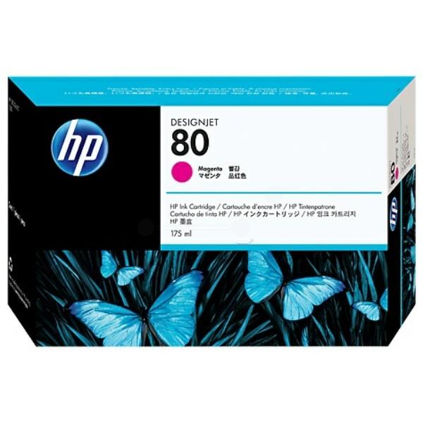 HP Tintenpatrone Nr. 80 magenta C4874A