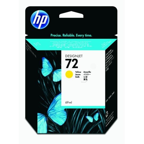 HP Tintenpatrone Nr. 72 gelb C9400A