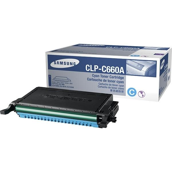 Samsung Toner CLP-C660A cyan