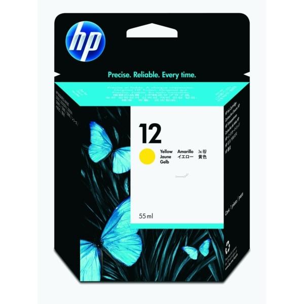 HP Tintenpatrone Nr. 12 gelb C4806A
