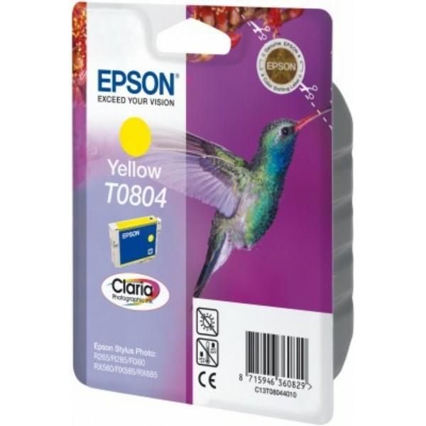 Epson Tintenpatrone T0804 gelb C13T08044010