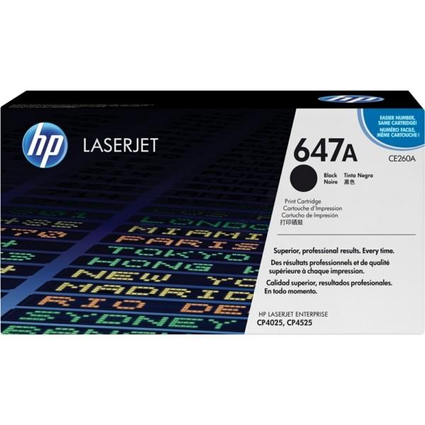 HP Toner 647A schwarz CE260A