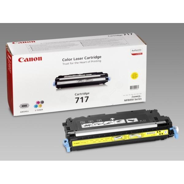 Canon Toner 717Y gelb 2575B002