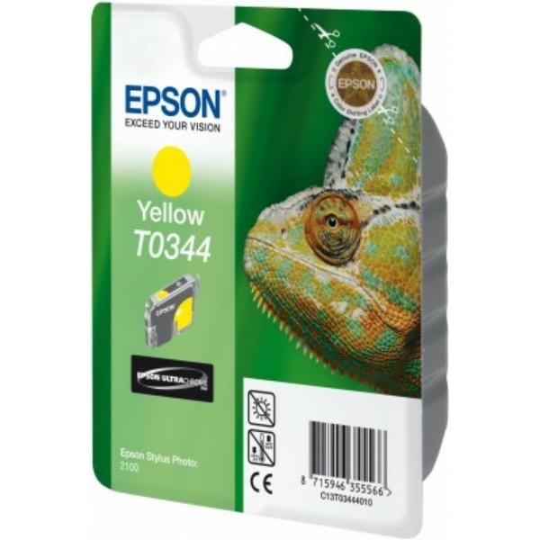Epson Tintenpatrone T0344 gelb C13T03444010