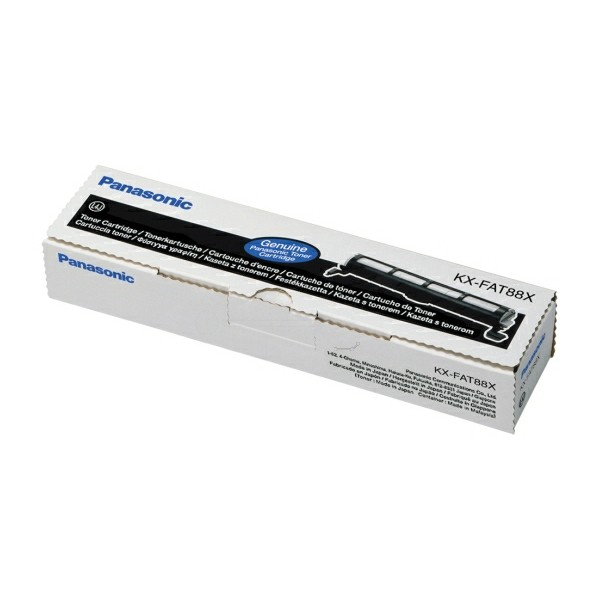 Panasonic Toner KX-FAT88X schwarz