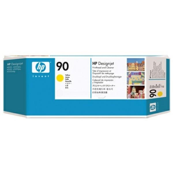 HP Druckkopf Nr. 90 gelb C5057A