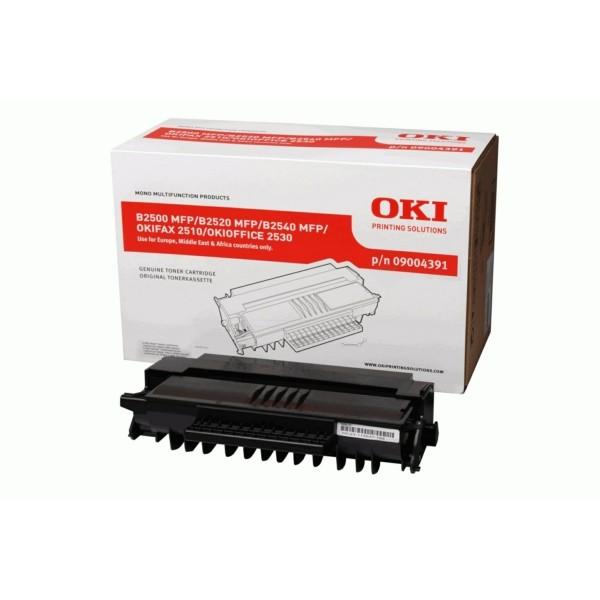 OKI Toner 09004391 schwarz