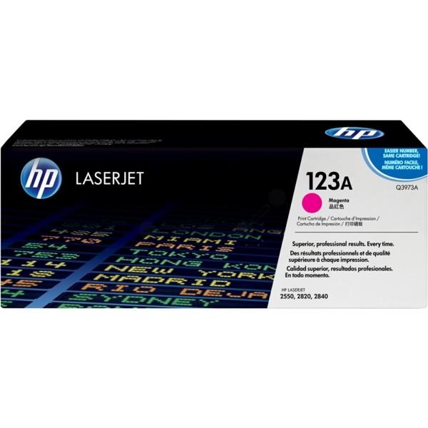 HP Toner 123A magenta Q3973A