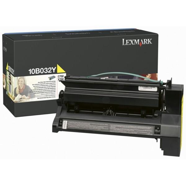Lexmark Toner 10B032Y gelb