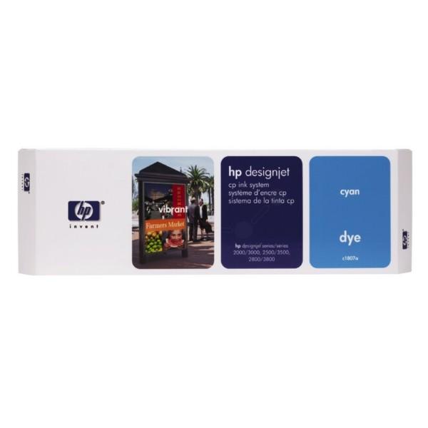 HP Druckkopf Nr. 07 cyan C1807A