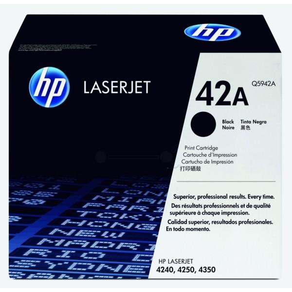 HP Toner 42A schwarz Q5942A