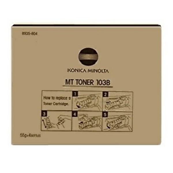 Konica Minolta Toner MT 103B schwarz 8935-804