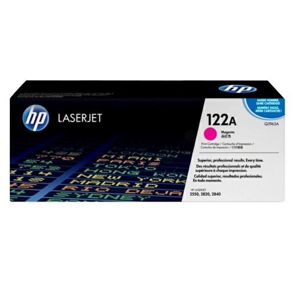 HP Toner 122A magenta Q3963A