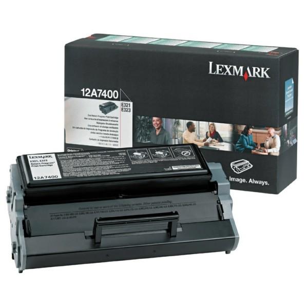 Lexmark Toner 12A7400 schwarz