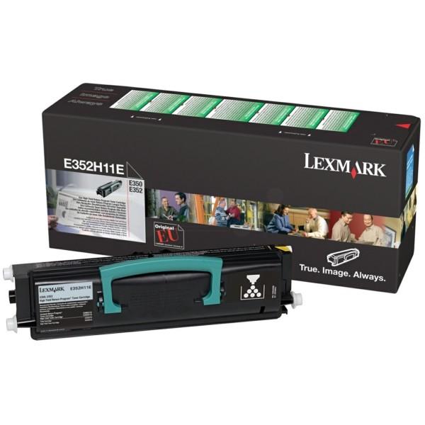 Lexmark Toner E352H11E schwarz