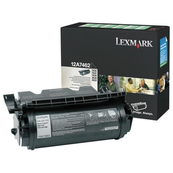 Lexmark Toner 12A7462 schwarz