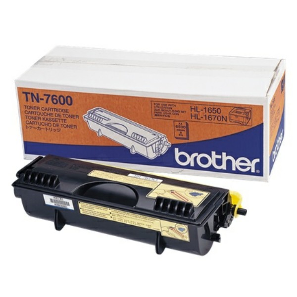 Brother Toner TN-7600 schwarz
