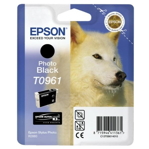 Epson Tintenpatrone T0961 schwarz C13T09614010