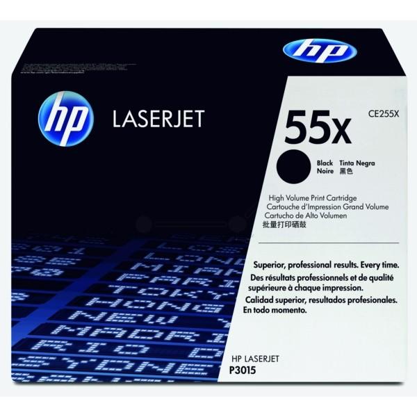 HP Toner 55X schwarz CE255X
