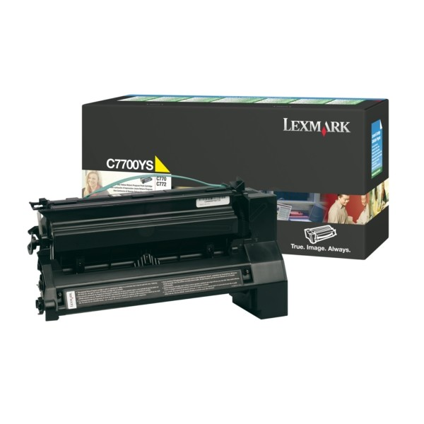 Lexmark Toner C7700YS gelb