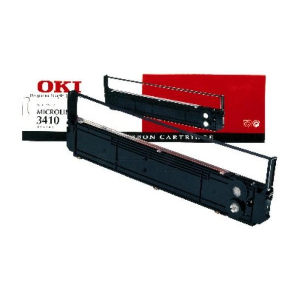 OKI Nylonband 09002308 schwarz