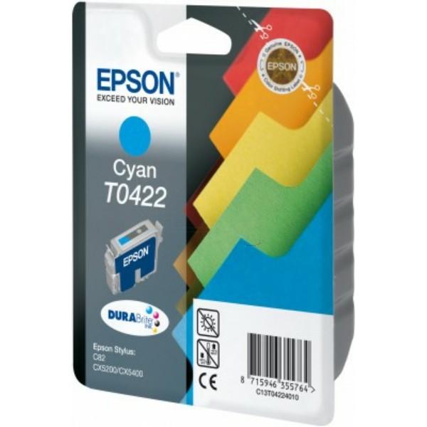 Epson Tintenpatrone T0422 cyan C13T04224010