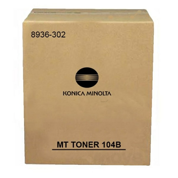 Konica Minolta Toner EP-104B schwarz 8936-302