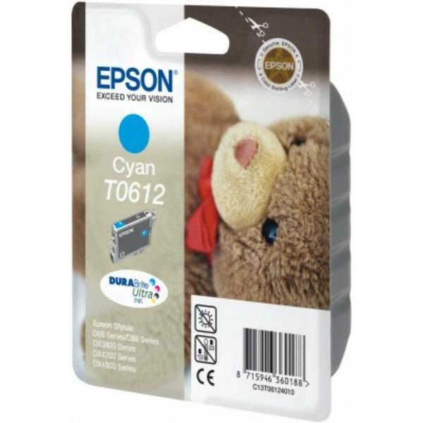 Epson Tintenpatrone T0612 cyan C13T06124010