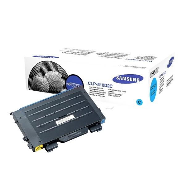 Samsung Toner CLP-510D2C cyan
