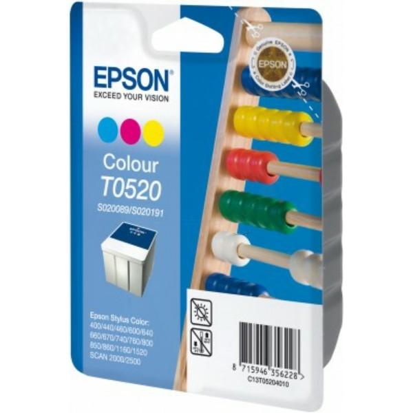 Epson Tintenpatrone T0520 color C13T05204010