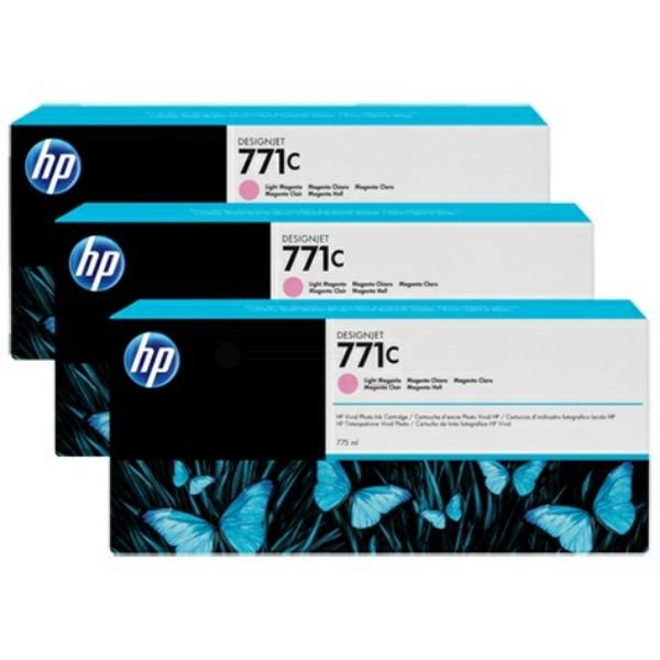 HP Tintenpatrone Nr. 771C magenta hell B6Y35A VE=3
