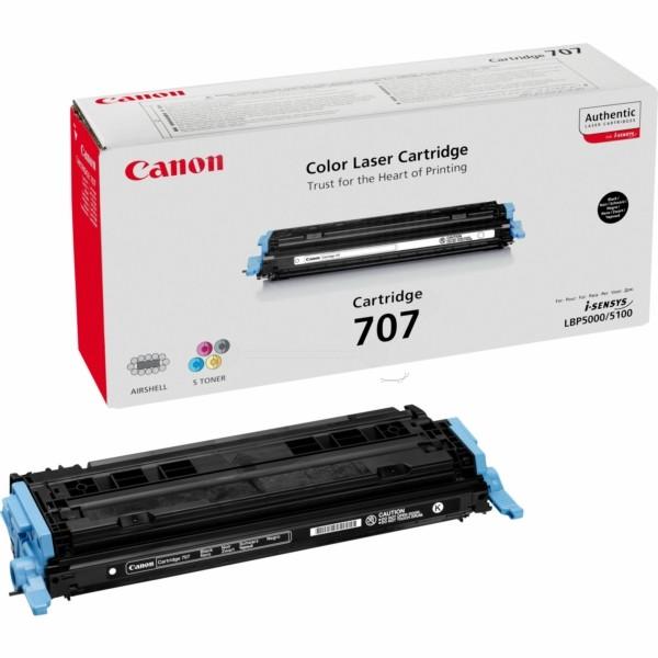 Canon Toner 707BK schwarz 9424A004