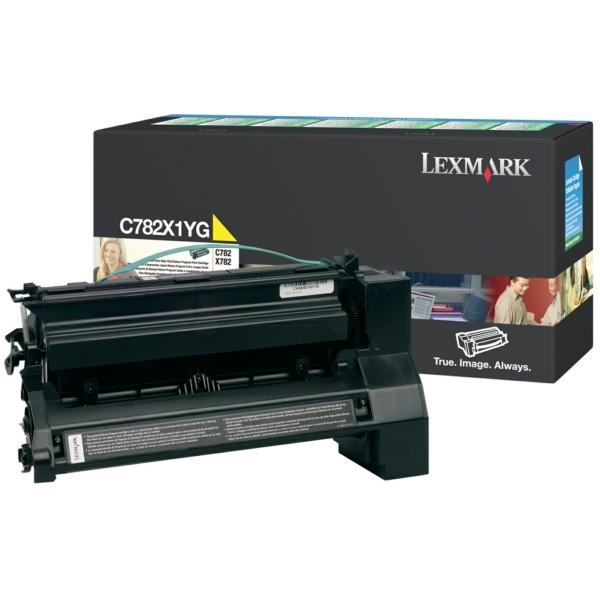 Lexmark Toner C782X1YG gelb