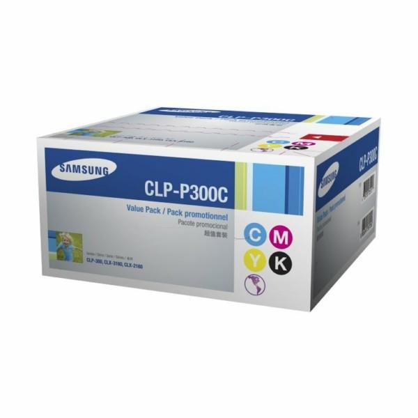 Samsung Toner CLP-P300C BK,C,M,Y Value-Kit