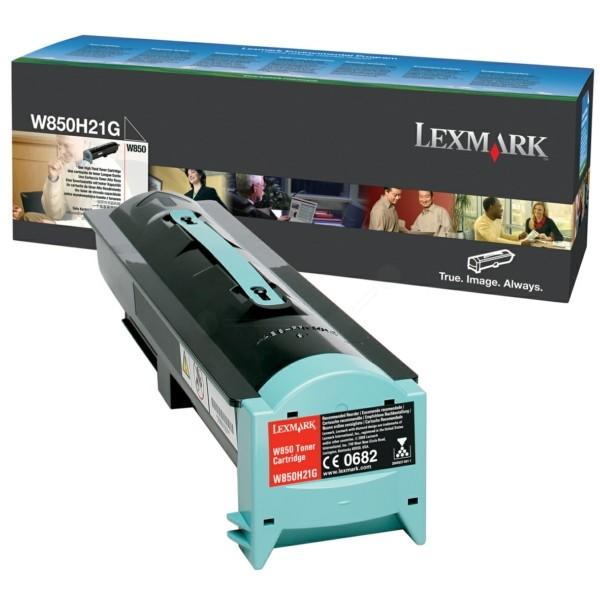 Lexmark Toner W850H21G schwarz
