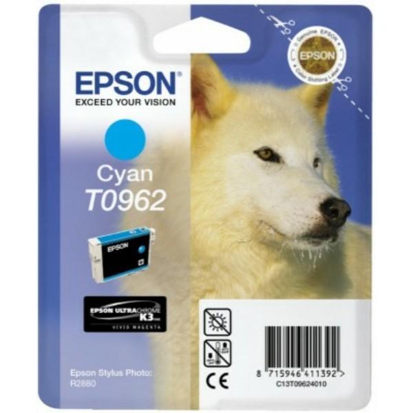 Epson Tintenpatrone T0962 cyan C13T09624010