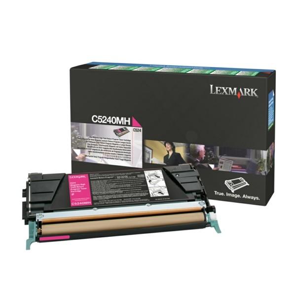 Lexmark Toner C5240MH magenta