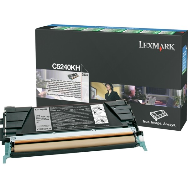 Lexmark Toner C5240KH schwarz