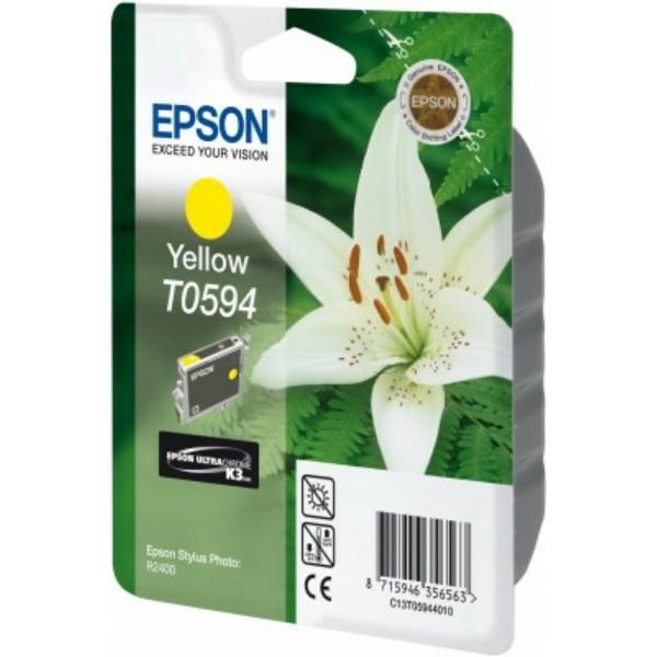Epson Tintenpatrone T0594 gelb C13T05944010