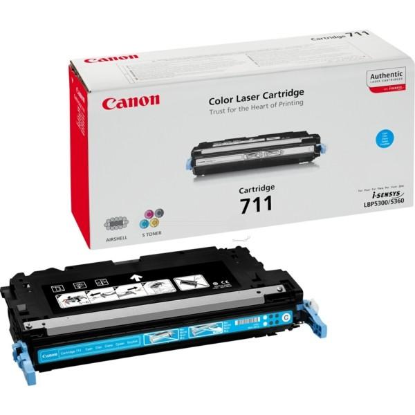 Canon Toner 711C cyan 1659B002