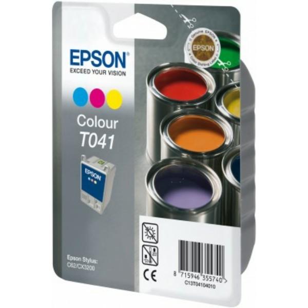 Epson Tintenpatrone T041 color C13T04104010