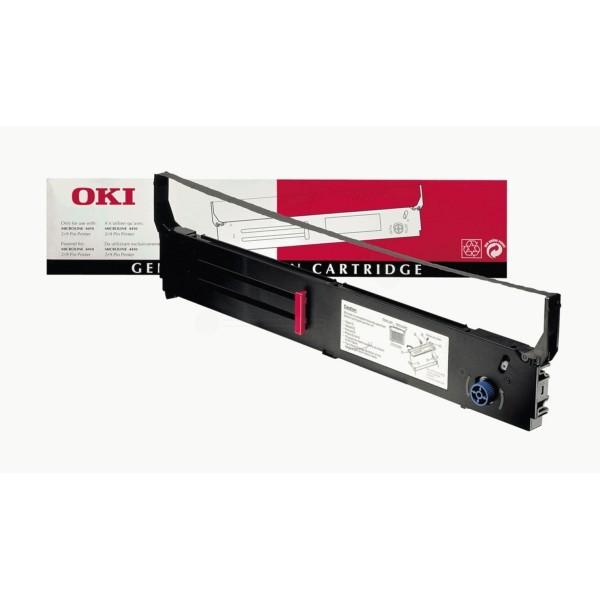 OKI Nylonband 40629303 schwarz