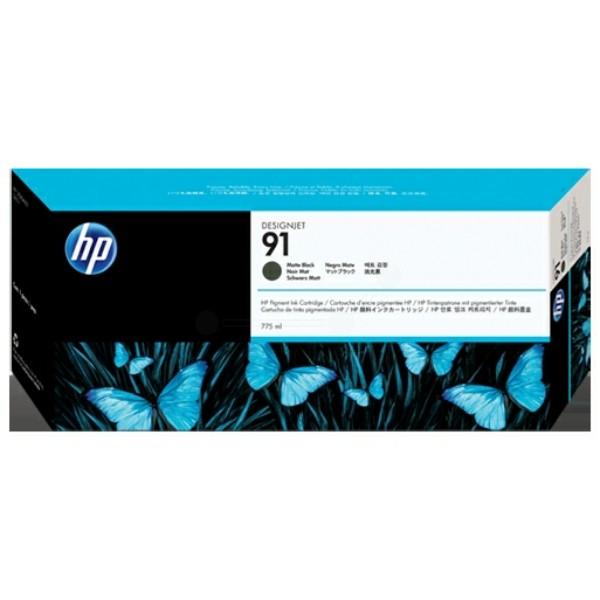 HP Tintenpatrone Nr. 91 schwarz matt C9464A