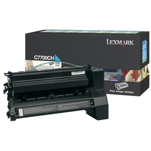 Lexmark Toner C7700CH cyan